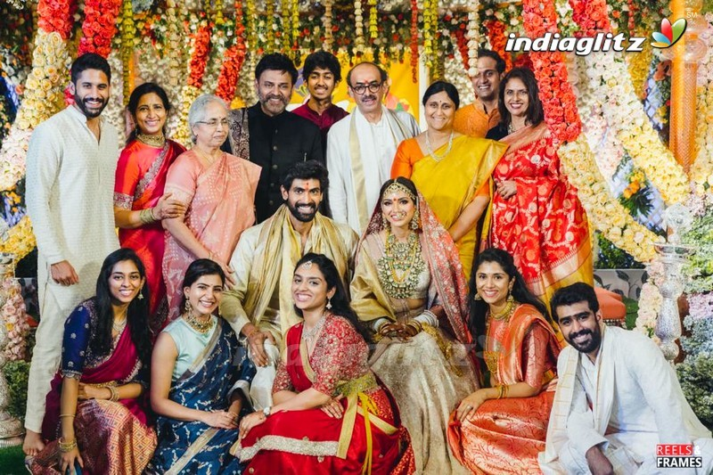 Rana Daggubati - Miheeka Wedding