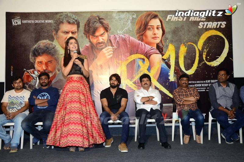'RX 100' Press Meet