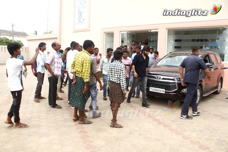 'RX 100' Success Tour At Tirupati and Naidupeta