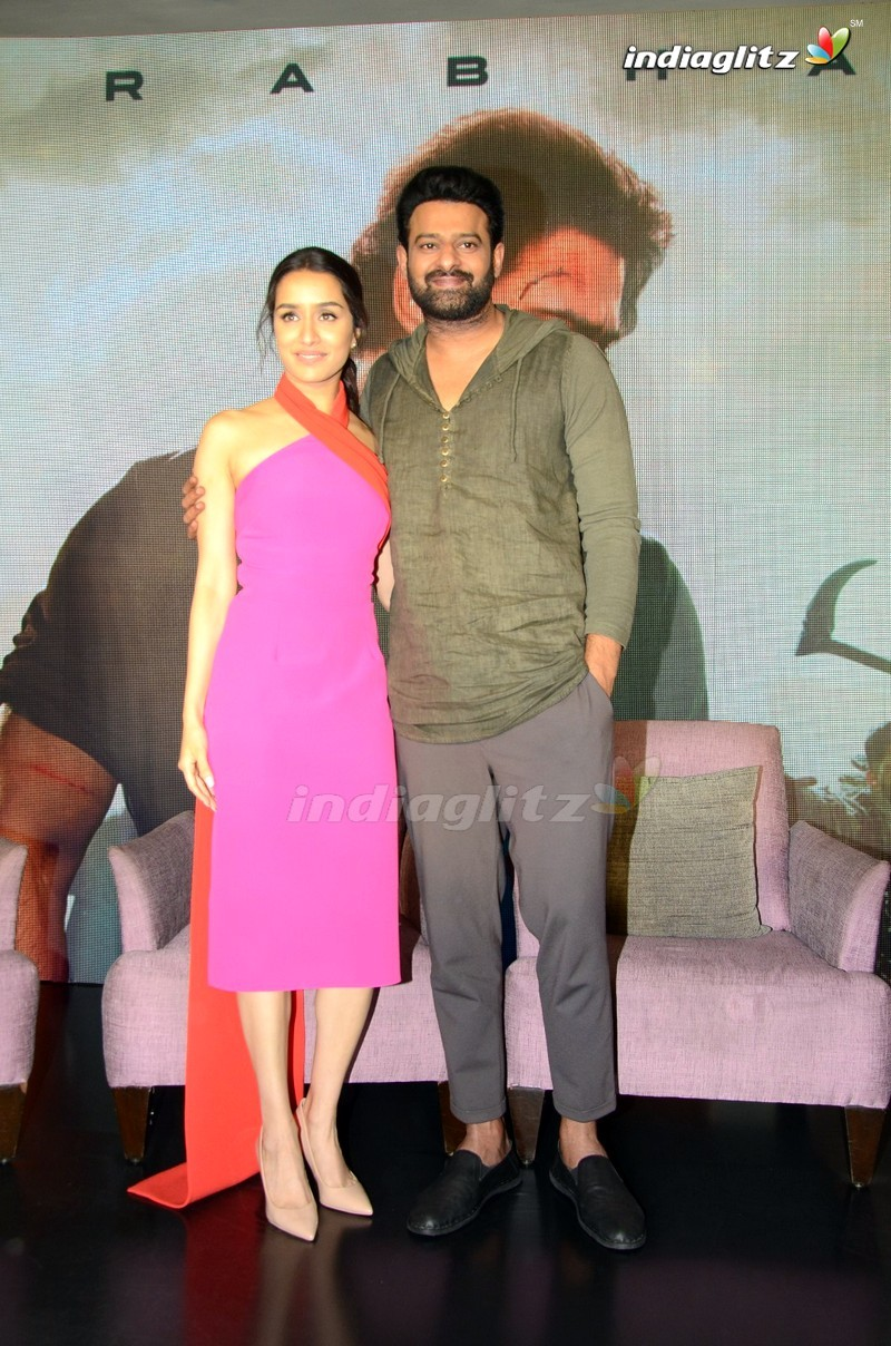 'Saaho' Press Meet