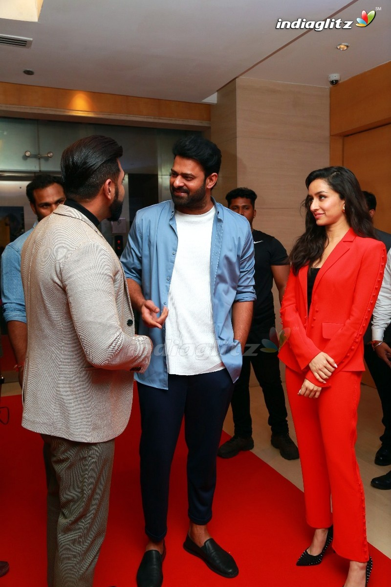 'Saaho' Press Meet In Chennai