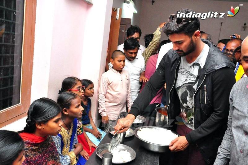 Saakshyam Success Tour @ Blind School and Tirumala Theater, Nalgonda