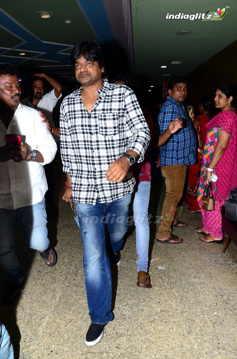 Sai Dharam Tej Watches Sye Raa Narasimha Reddy At Sudarshan Theatre
