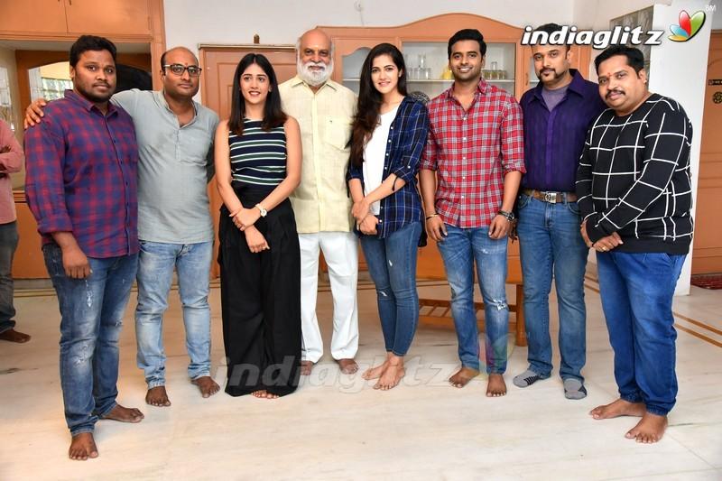 Sai Sushat Chandini and Simran New Movie Opening