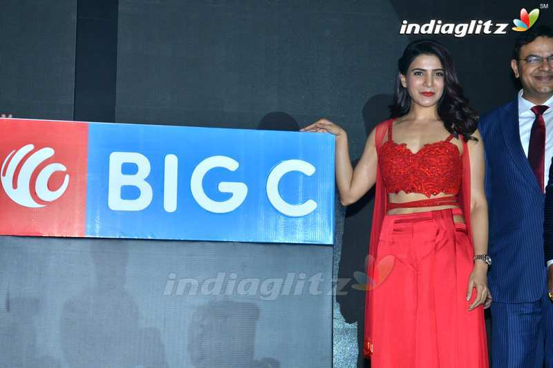 Samantha Announced As Big C Brand Ambassador