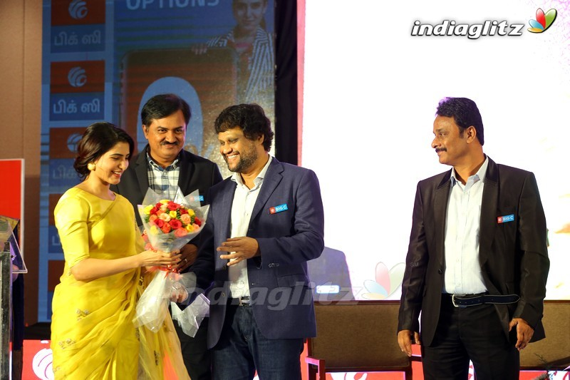 Samantha Launches Bigc @ Madhurai