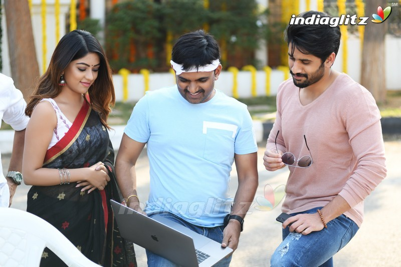 'Shailaja Reddy Alludu' On Location