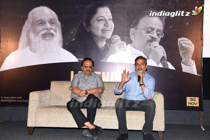 S. P. Balasubrahmanyam Press Meet