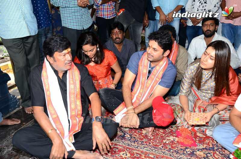 'Srinivasa Kalyanam' Team @ Kanaka Durga Temple, Vijayawada