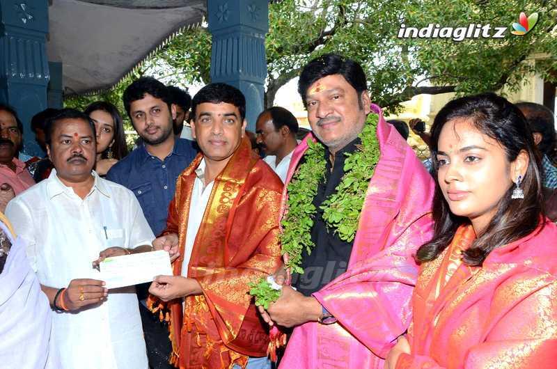 'Srinivasa Kalyanam' Team @ Dwaraka Tirumala