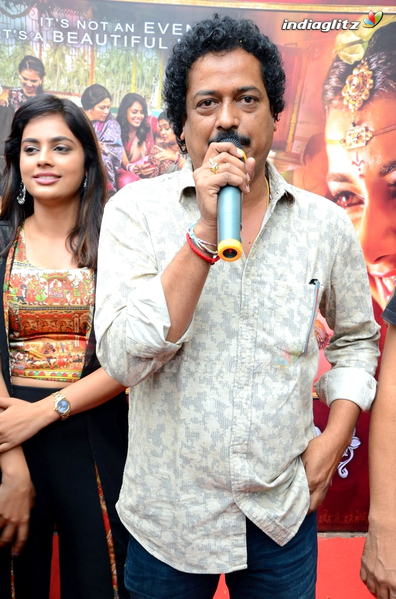'Srinivasa Kalyanam' Team With Audiences @ Arjun Theater, Kukatpally