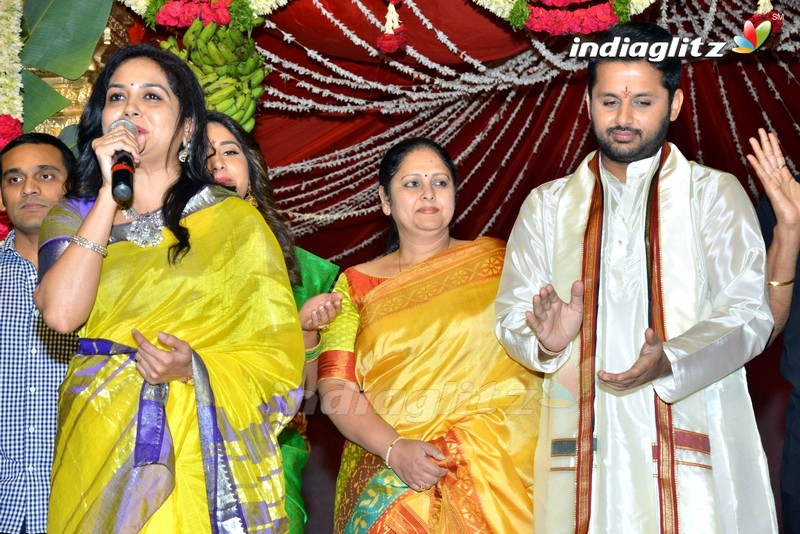 'Srinivasa Kalyanam' Audio Launch