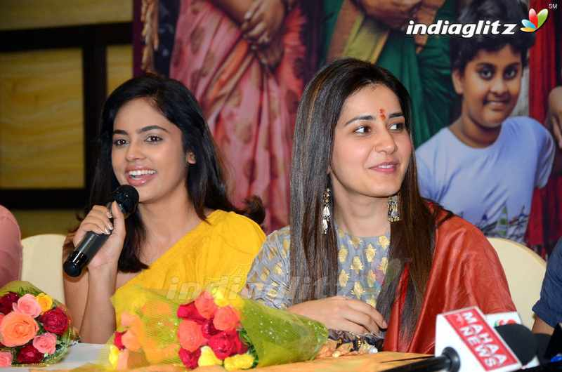 'Srinivasa Kalyanam' Press Meet @ Vijayawada