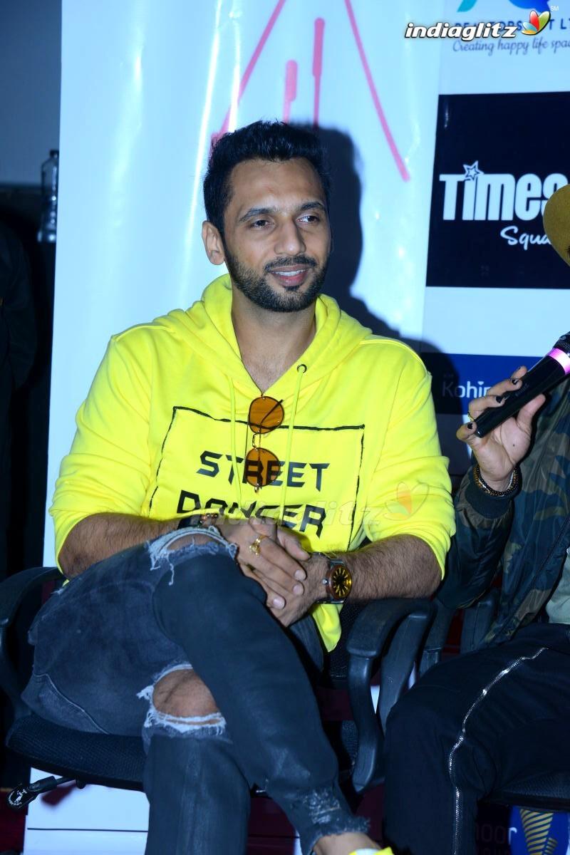 'Street Dancer' Press Meet