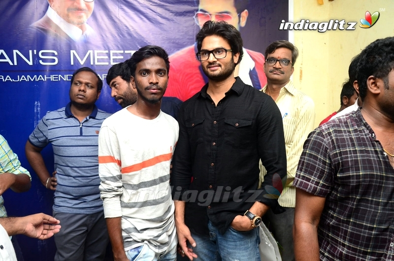 Sudheer Babu Fans Meet at Rajahmundry