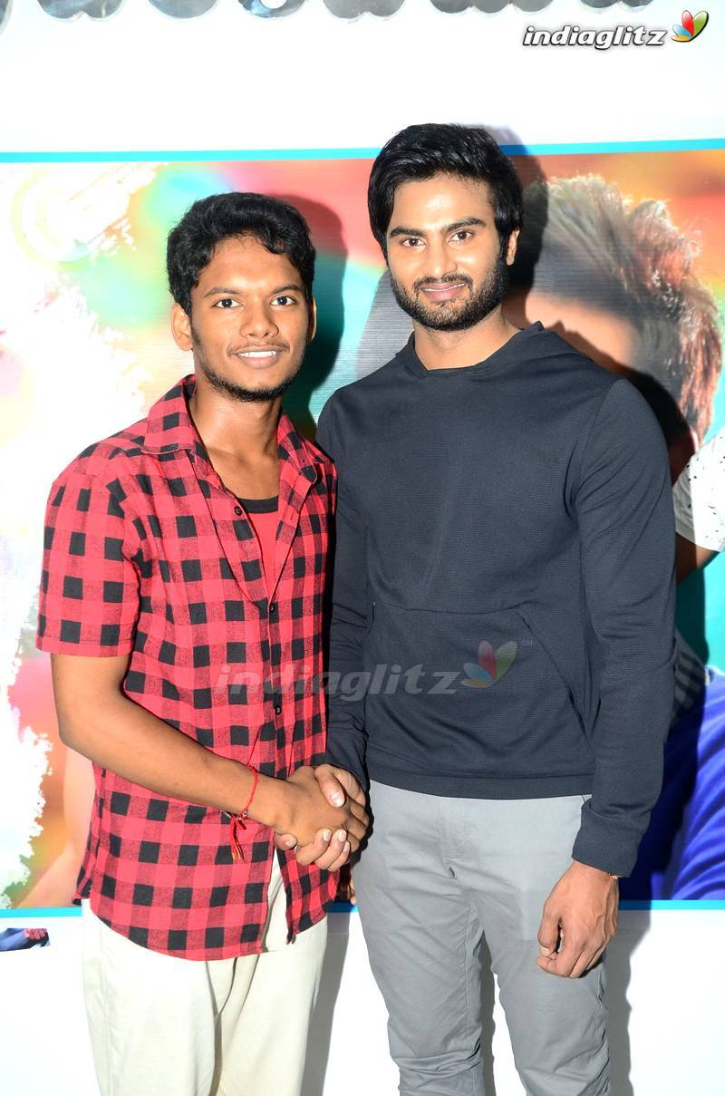 Sudheer Babu Fans Meet @ Bhimavaram