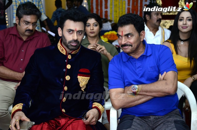Sunil - N Shankar Movie On Location