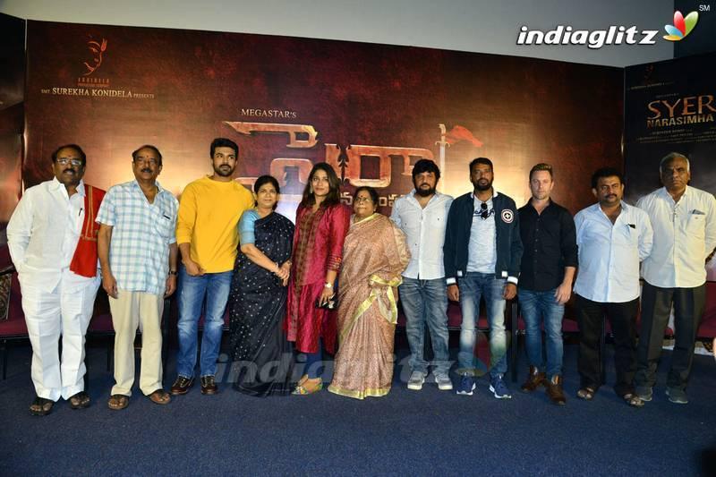 'Sye Raa Narasimha Reddy' Teaser launch