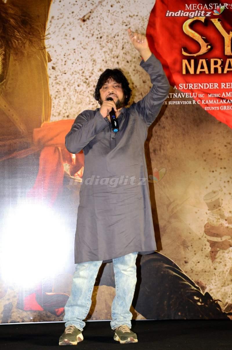 Sye Raa Narasimha Reddy Trailer Launch