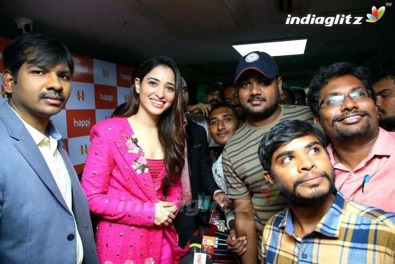Tamannah Launches Happi Mobiles Store @ Bhimavaram