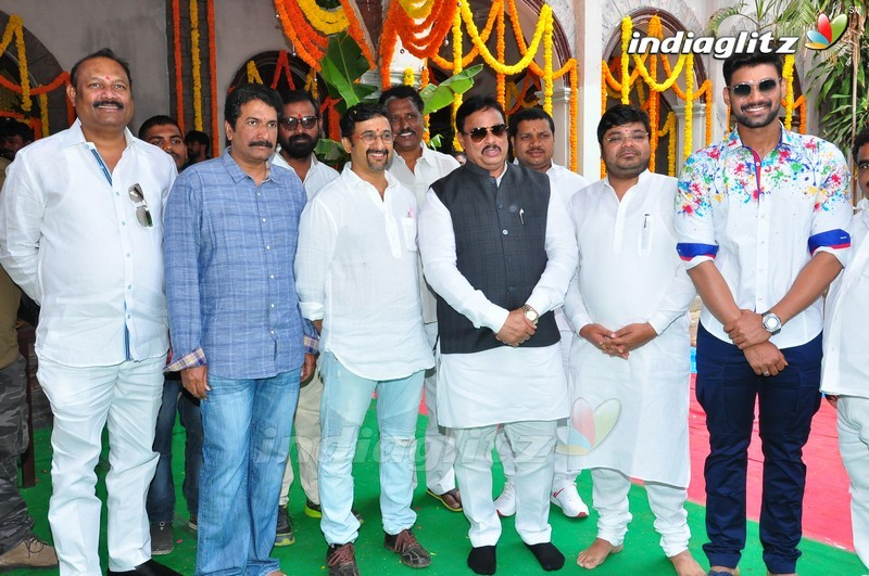 Teja-Bellamkonda Sreenivas Film Launched