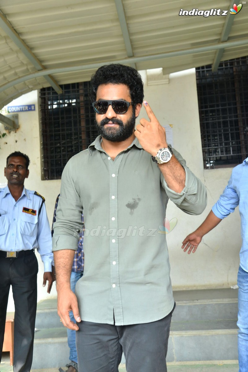 Telangana Elections: Celebrities Cast Their Vote