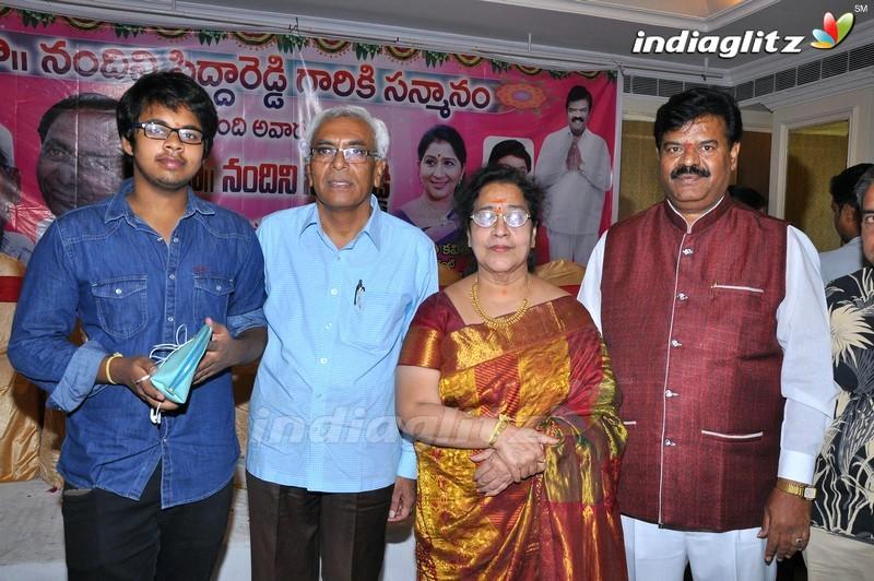 TFCC Conducted Felicitation Of Nandini Sidda Reddy