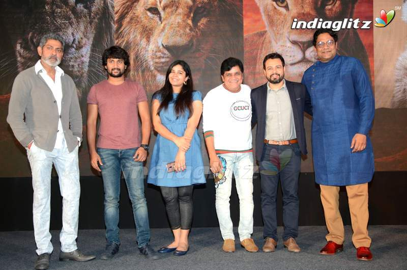 Nani, Jagapathi Babu @ The Lion King Press Meet
