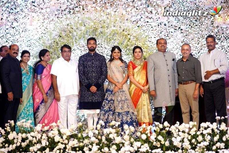 Celebs @ Producer Lakshman's Son Ujjwal Engagement