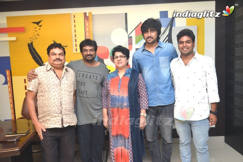 Puri Jagannadh With Vaisakham Team
