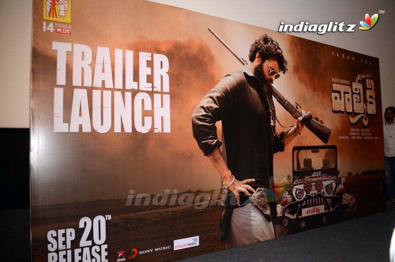 'Valmiki' Trailer Launch