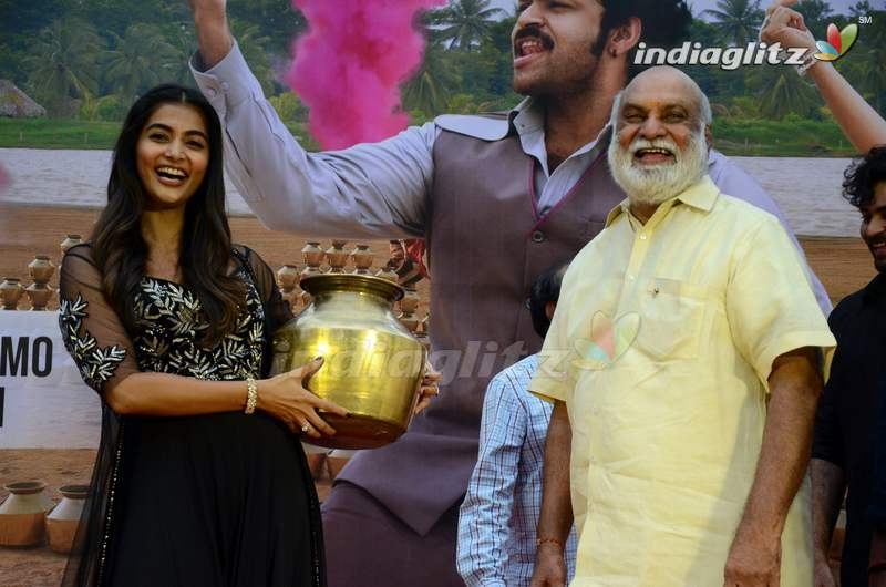 Valmiki's 'Velluvachi Godaramma' Song Launched