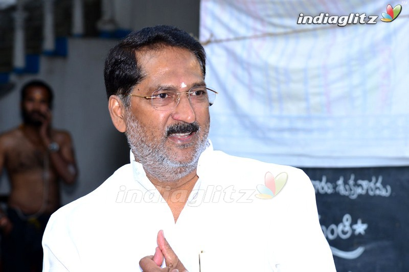 Venkatesh - Maruthi Movie Launch