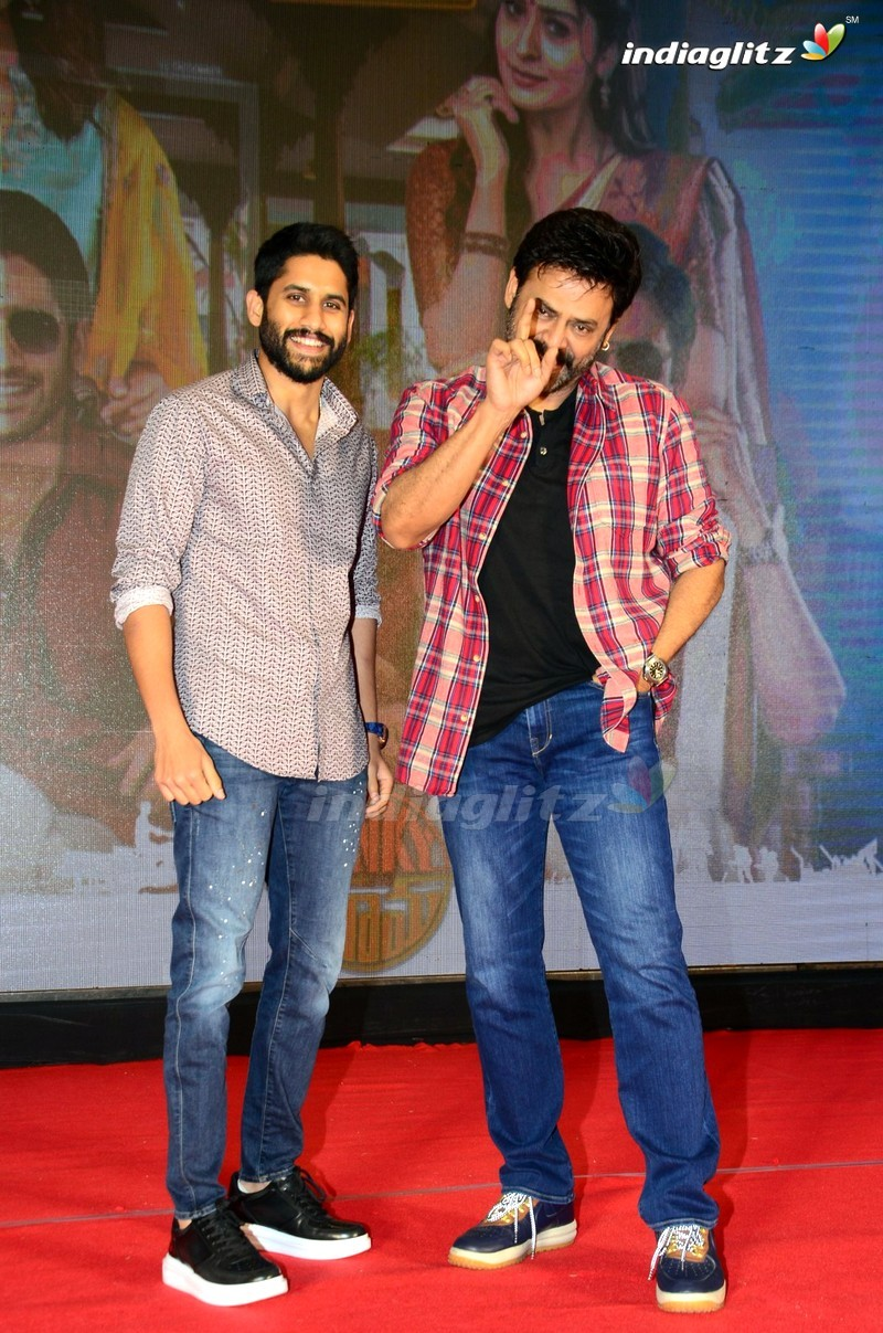 'Venky Mama' Press Meet