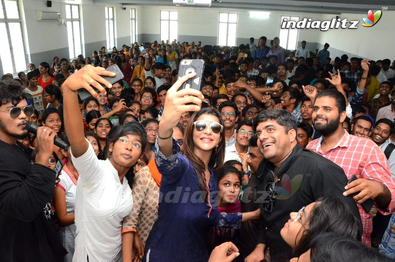 'Wife Of Ram' Promotions At AVN Engineering College