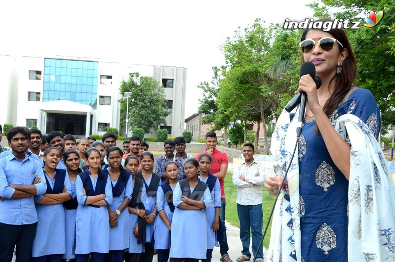 'Wife Of Ram' Promotions At Ghatkesar and Kompally Colleges
