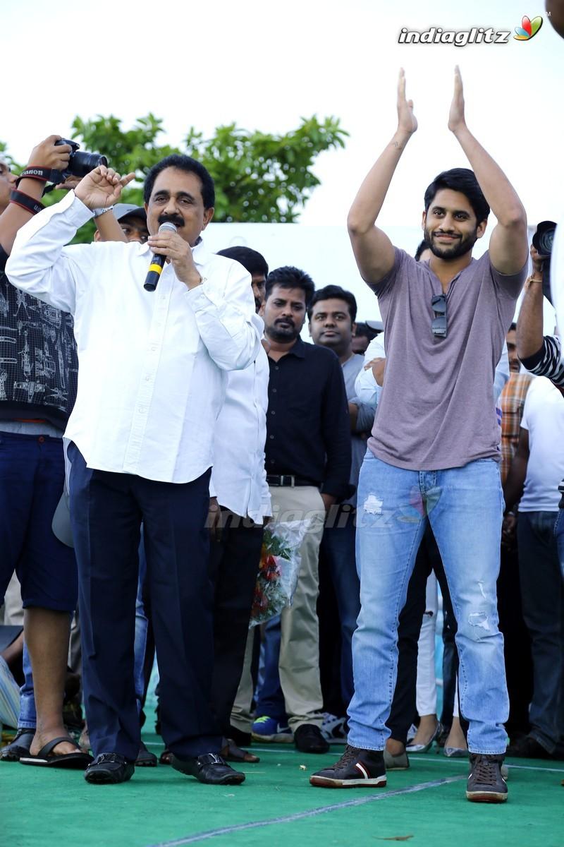 'Yuddham Sharanam' Team In Vizag & Rajahmundry