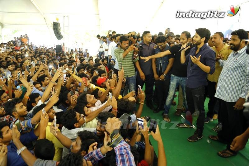 'Yuddham Sharanam' Team Tour In AP