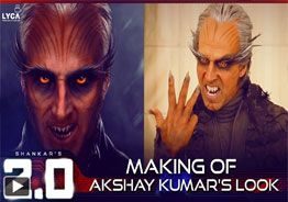 '2.0' Making of Akshay Kumar's Look
