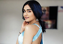 Adah Sharma's 'newspaper' dress is unusual