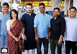 Akhil New Movie Launch