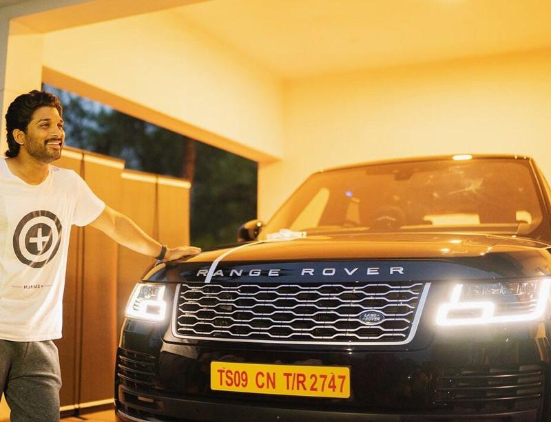 Allu Arjuns Range Rover is a BEAST
