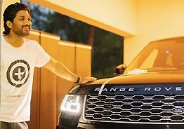 Allu Arjun's Range Rover is a BEAST