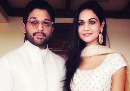 Pic Talk: Allu Arjun hosts inside house party for wife Sneha