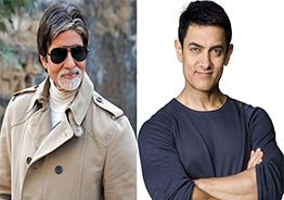 Video: Amitabh Bachchan & Aamir dance with abandon