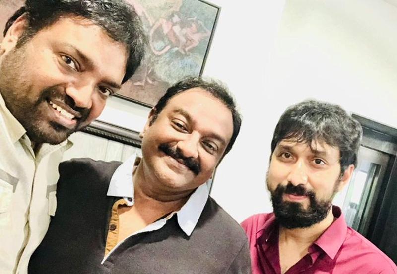 Pic Talk: Megastar Chiranjeevis three directors post a selfie