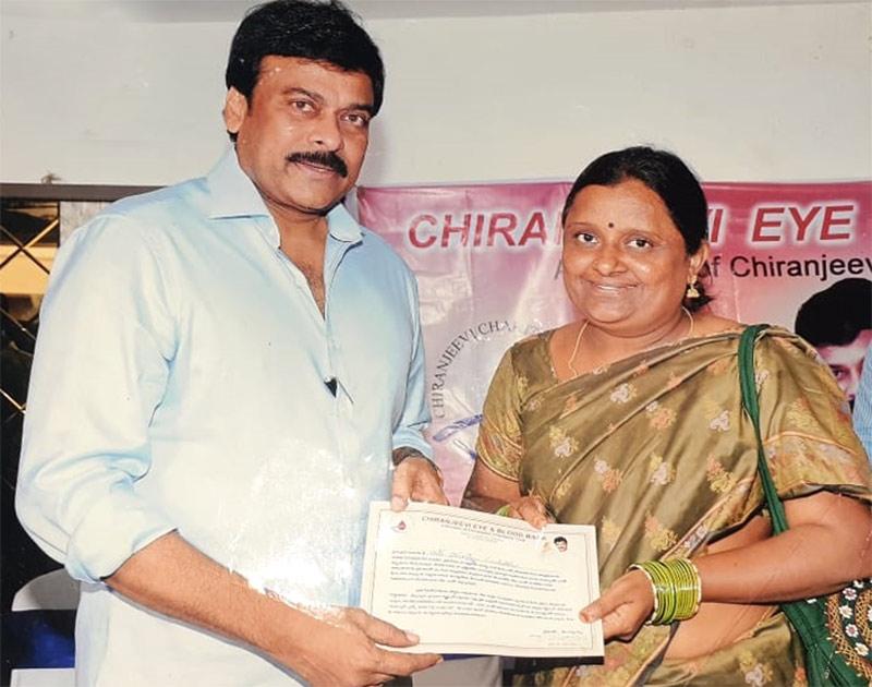 Chiranjeevi sponsors surgery of heart patient