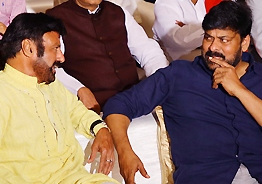 Finally, we have proof Chiru & Balayya talked!
