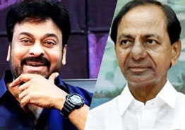 KCR's compassionate measures will help film industry: Chiranjeevi