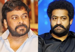 Chiranjeevi updates about Jr NTR's health